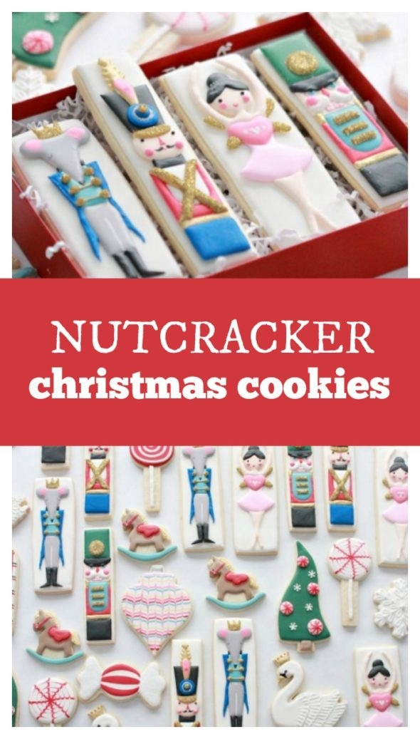 Nutcracker Christmas Cookies on Sweetopia