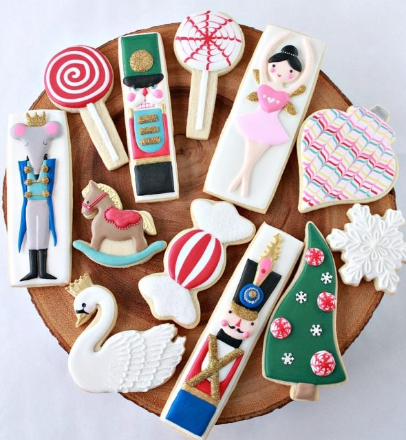 Nutcracker Cookie Instructions