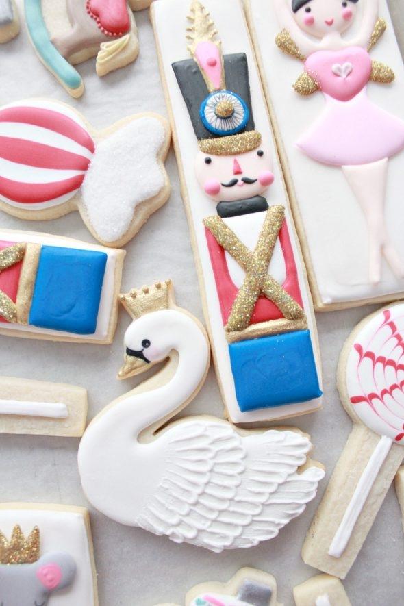 Nutcracker Cookies on Sweetopia