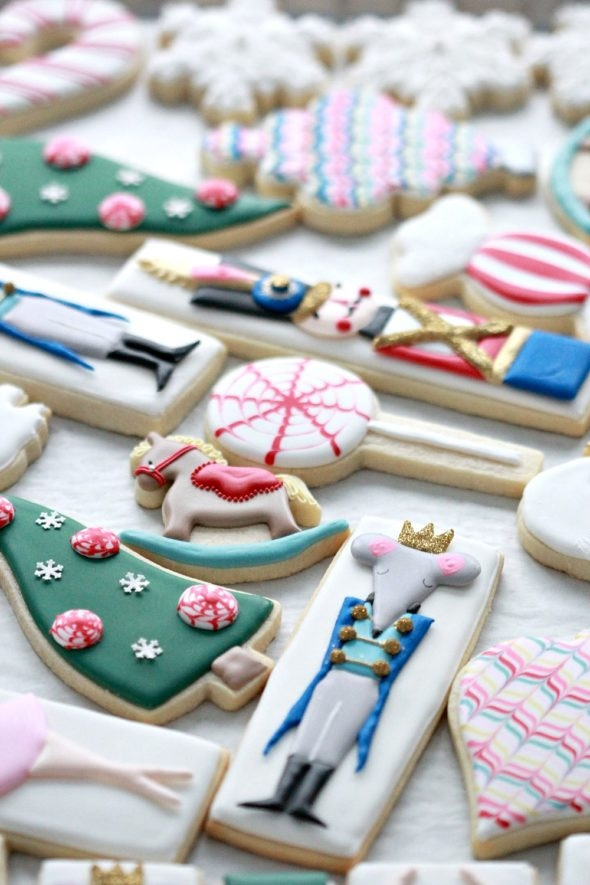 Nutcracker Decorated Cookies