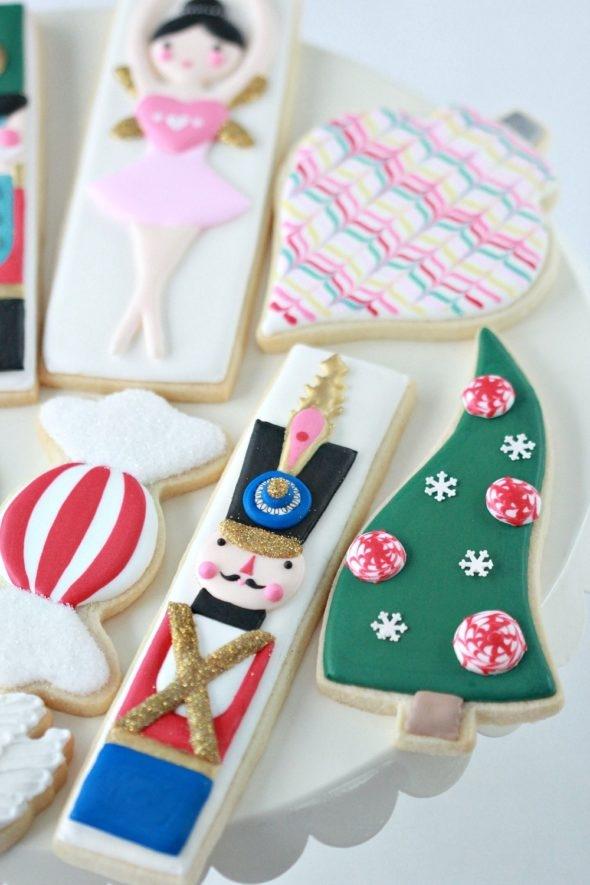 Nutcracker Decorated Cookies on Sweetopia