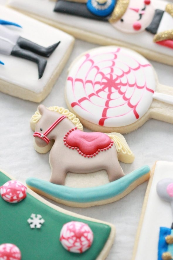 Rocking Horse Decorated Cookie