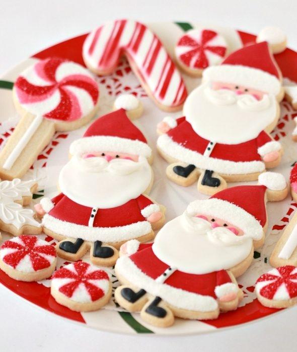 Santa Christmas Cookies