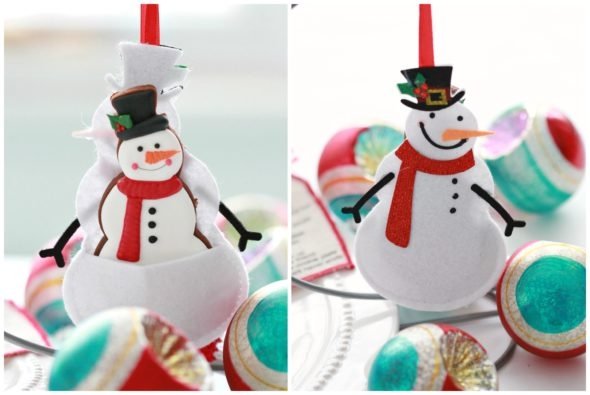 Snowman Gift Card Holder Ornament Michaels