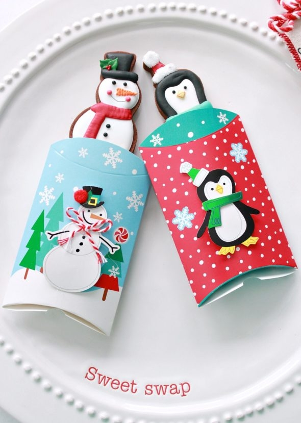 Snowman and Penguin Gift Card Packages from Michaels