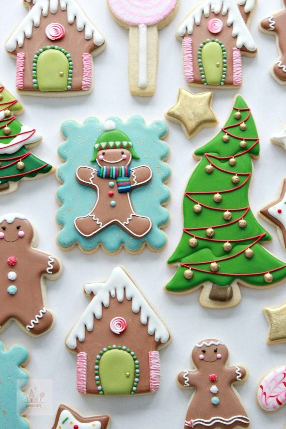 Cookie Decorating Royal Icing Tips