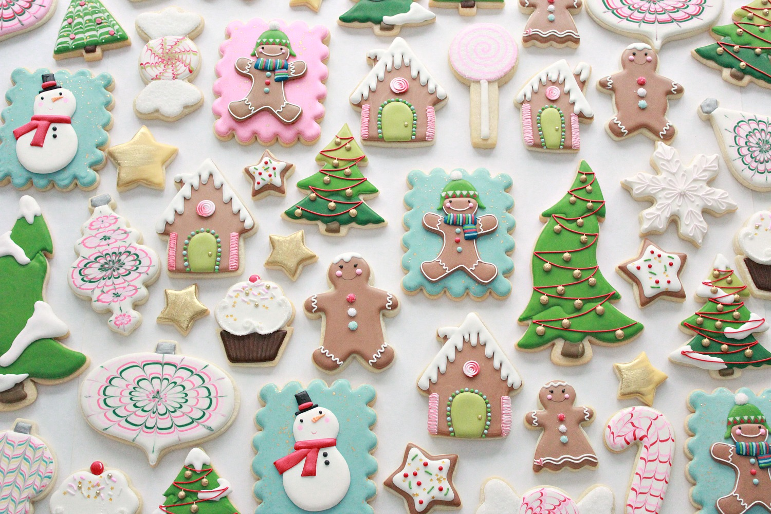 Decorating Christmas Cookies.Royal Icing Cookie Decorating Tips Sweetopia