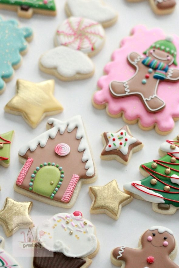 Royal Icing Cookie Decorating Tips and Christmas Cookies