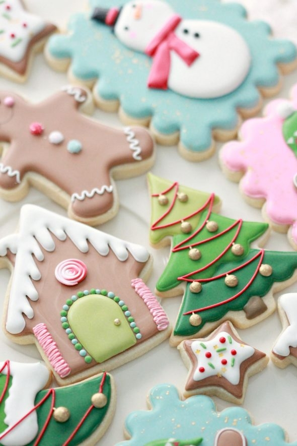 Royal Icing Decorated Cookie Tips and Christmas Cookies Sweetopia