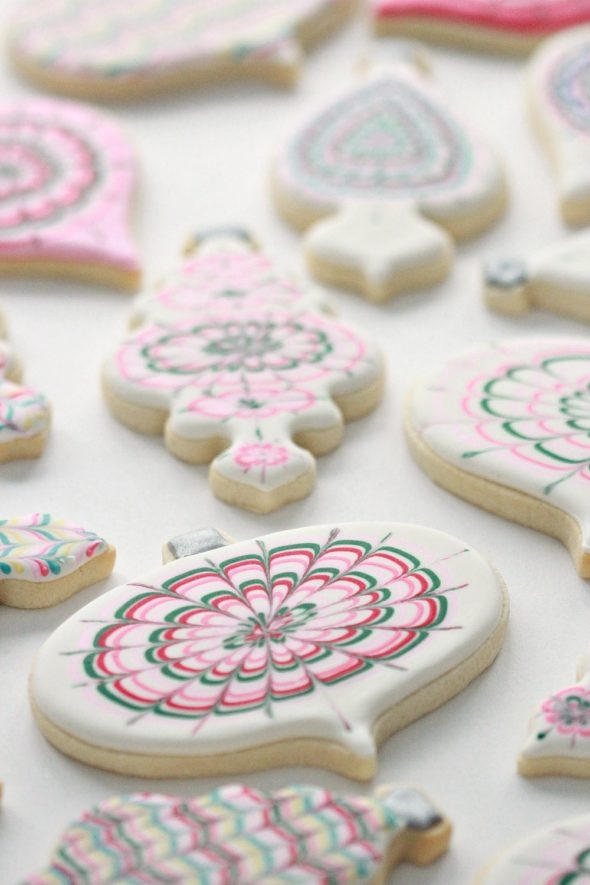Royal Icing Marbling and Tips