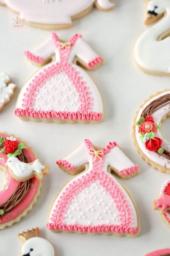 Dress Decorated Cookies