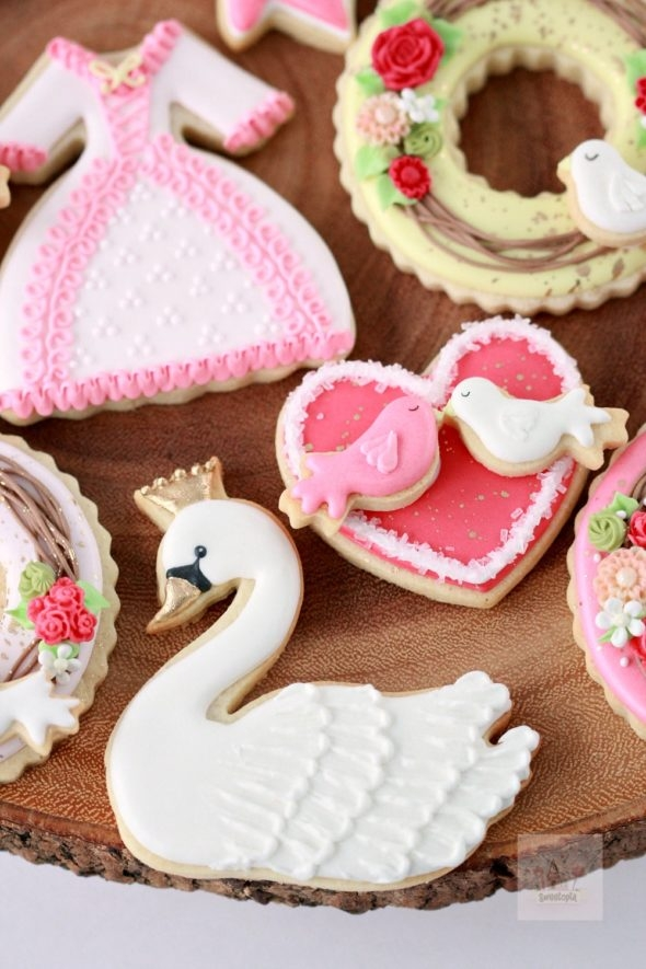 Valentine Decorated Cookies Sweetopia