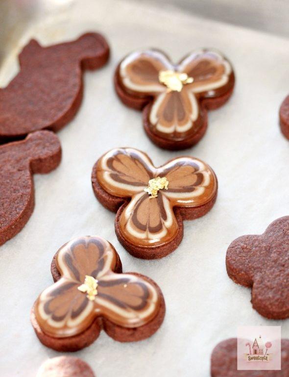 Video Tutorial Simple Chocolate Box Cookies