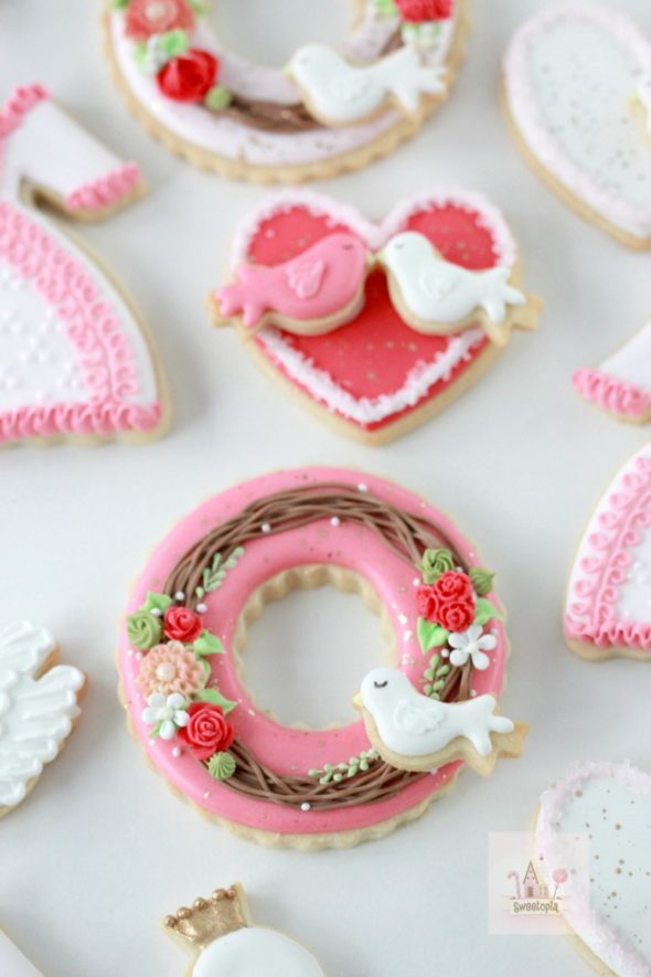 Video Valentines Day Decorated Cookies