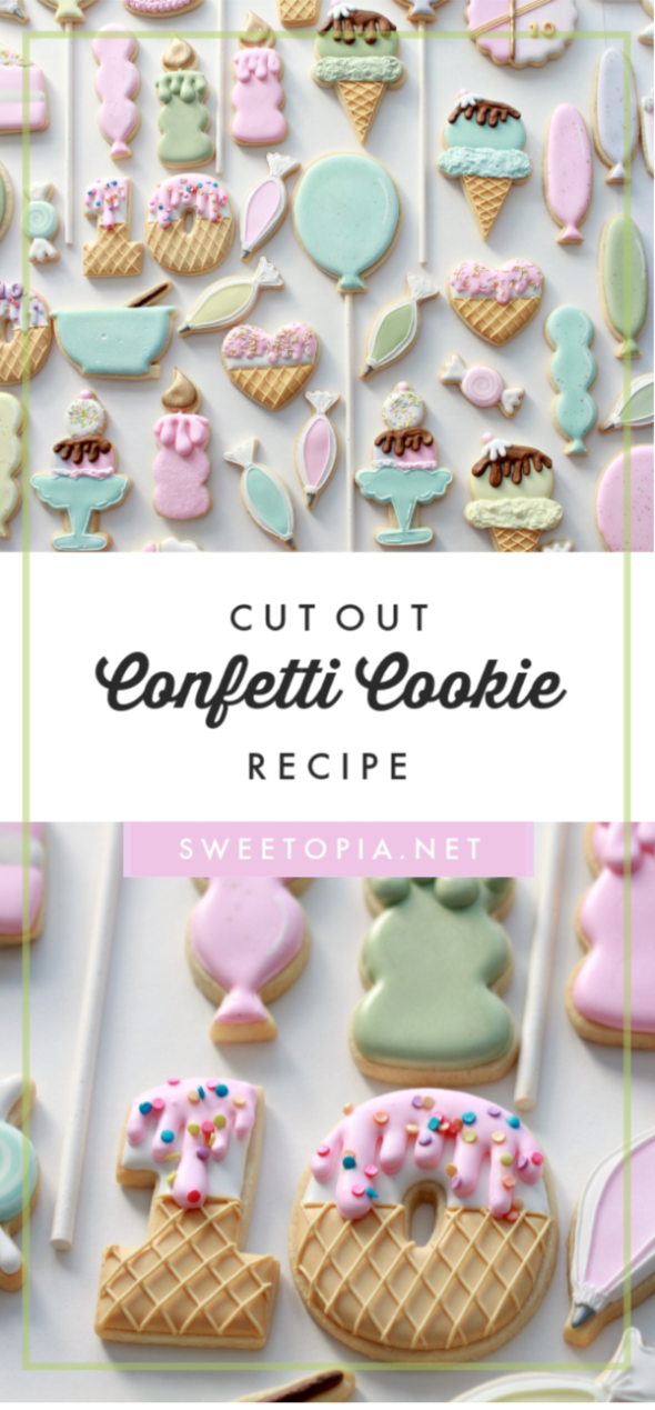 Confetti Cookie Recipe