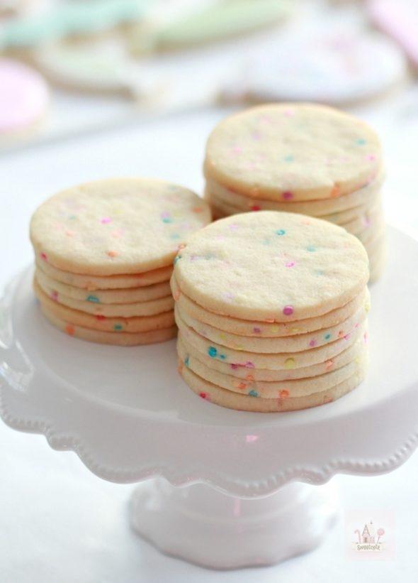 Confetti Cut Out Cookie Recipe