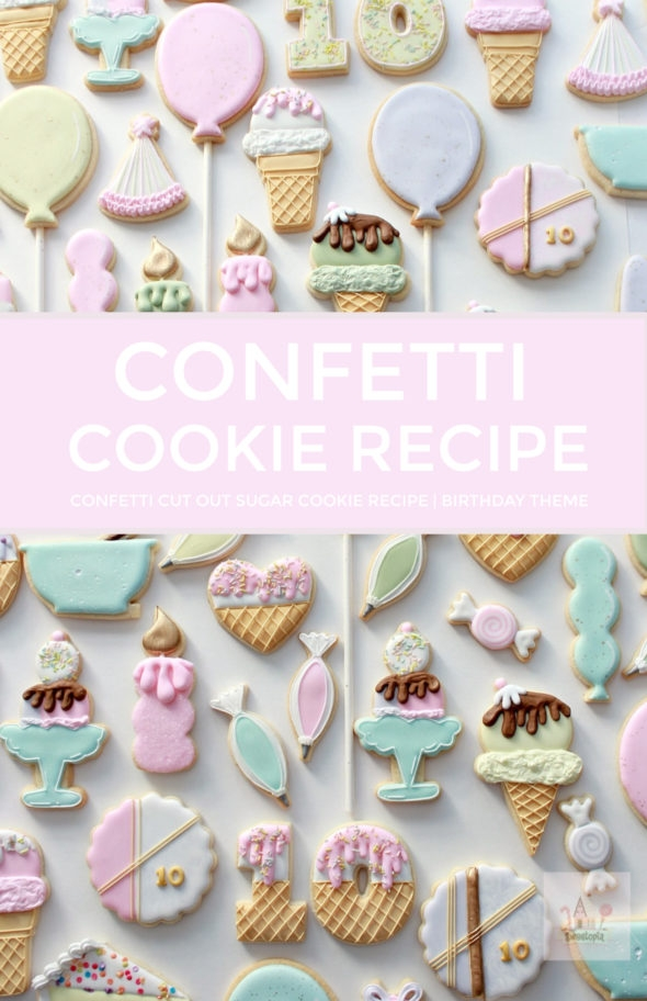confetti sugar cookie recipe