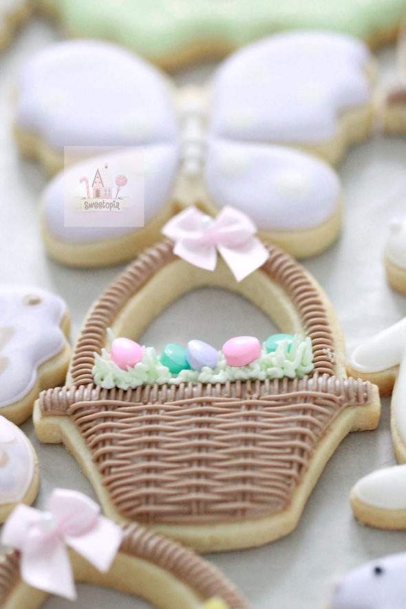 Basket Decorated Cookies