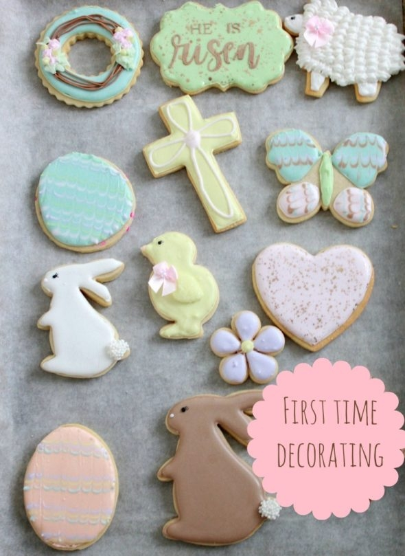 First Time Decorating Cookies