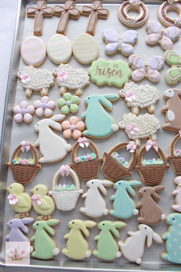 Simple Easter Cookies