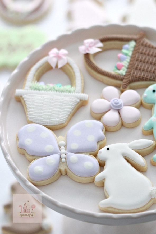Spring Decorated Cookies