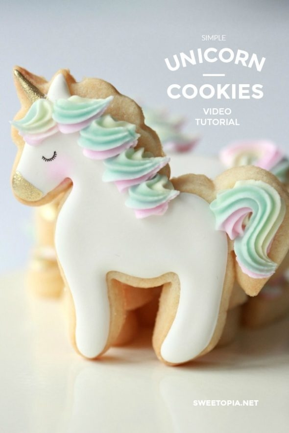 Unicorn Cookie Video How To