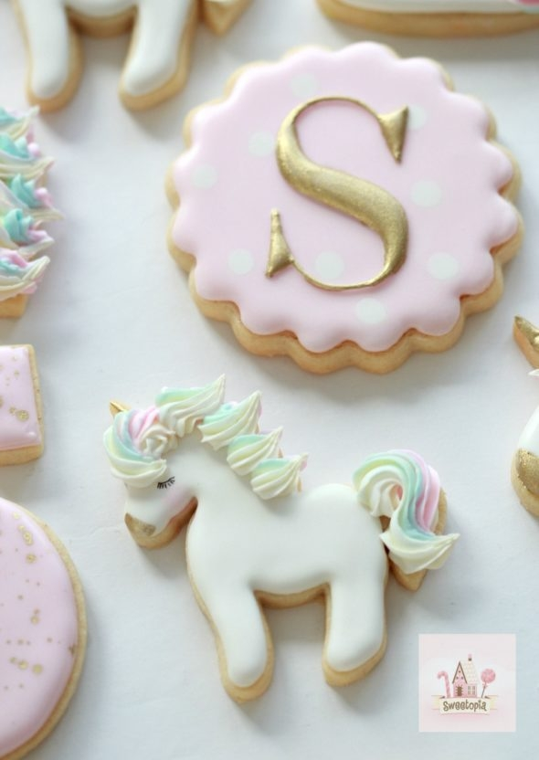 Video How To _ Decorating Unicorn Cookies with Royal Icing