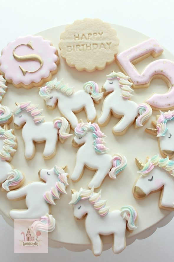 Video_ How to Decorate Unicorn Cookies with Icing