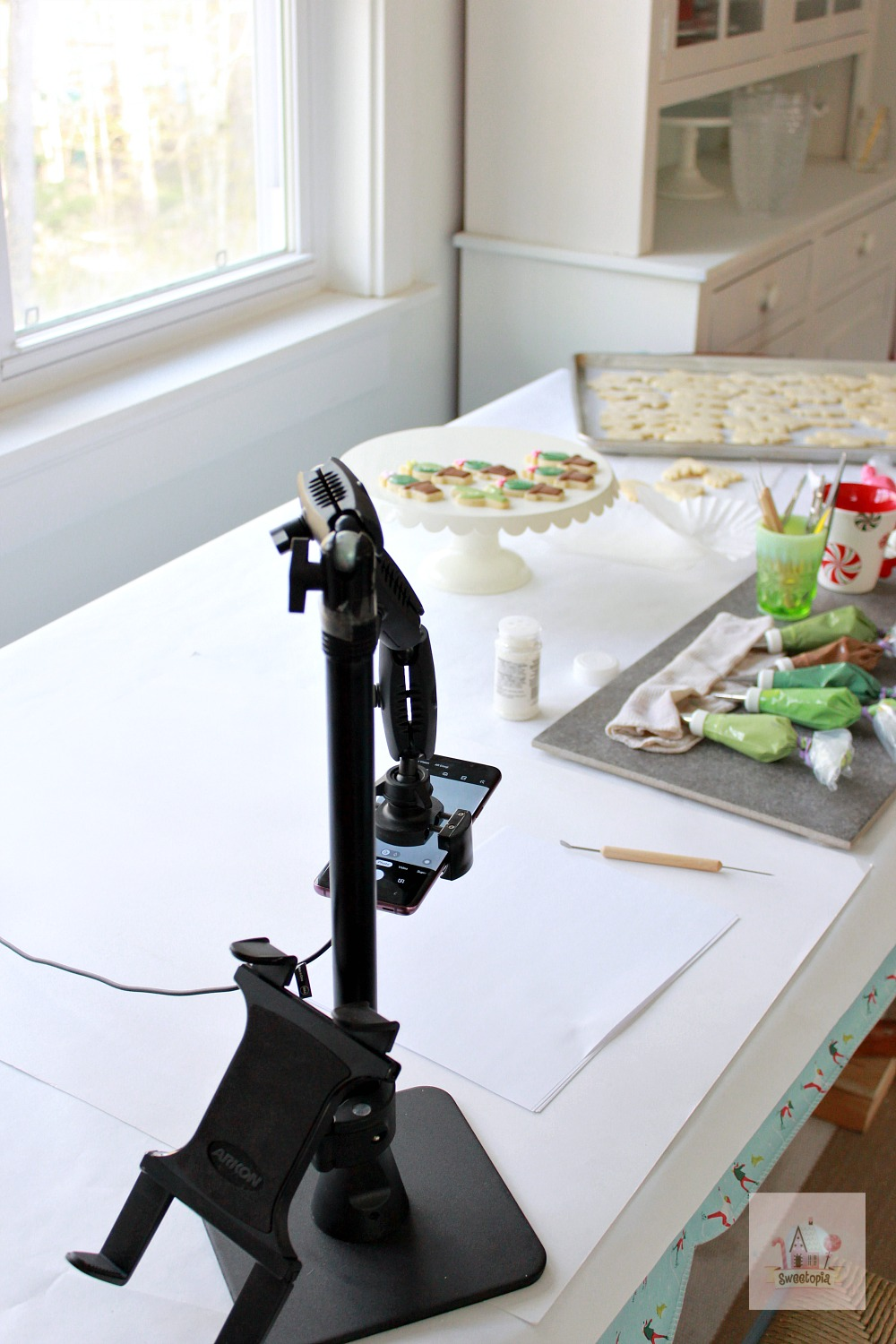 Arkon Mount Cookie Decorating Space