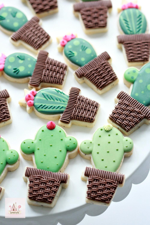 Cactus Cookie Tutorial Video