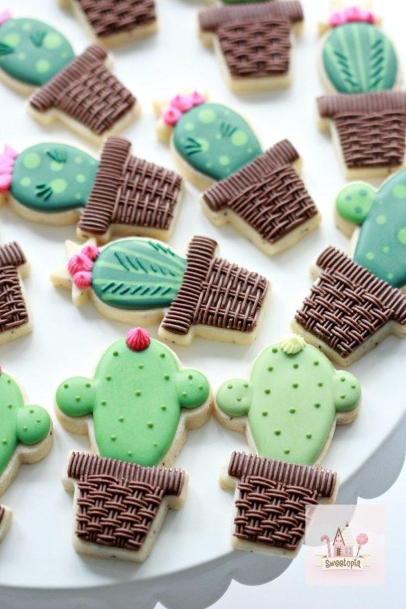 Cactus Cookie Video Tutorial