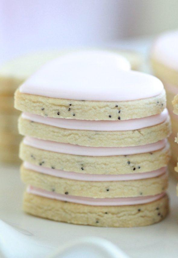 Lemon Poppy Seed Cut Out Cookie Recipe