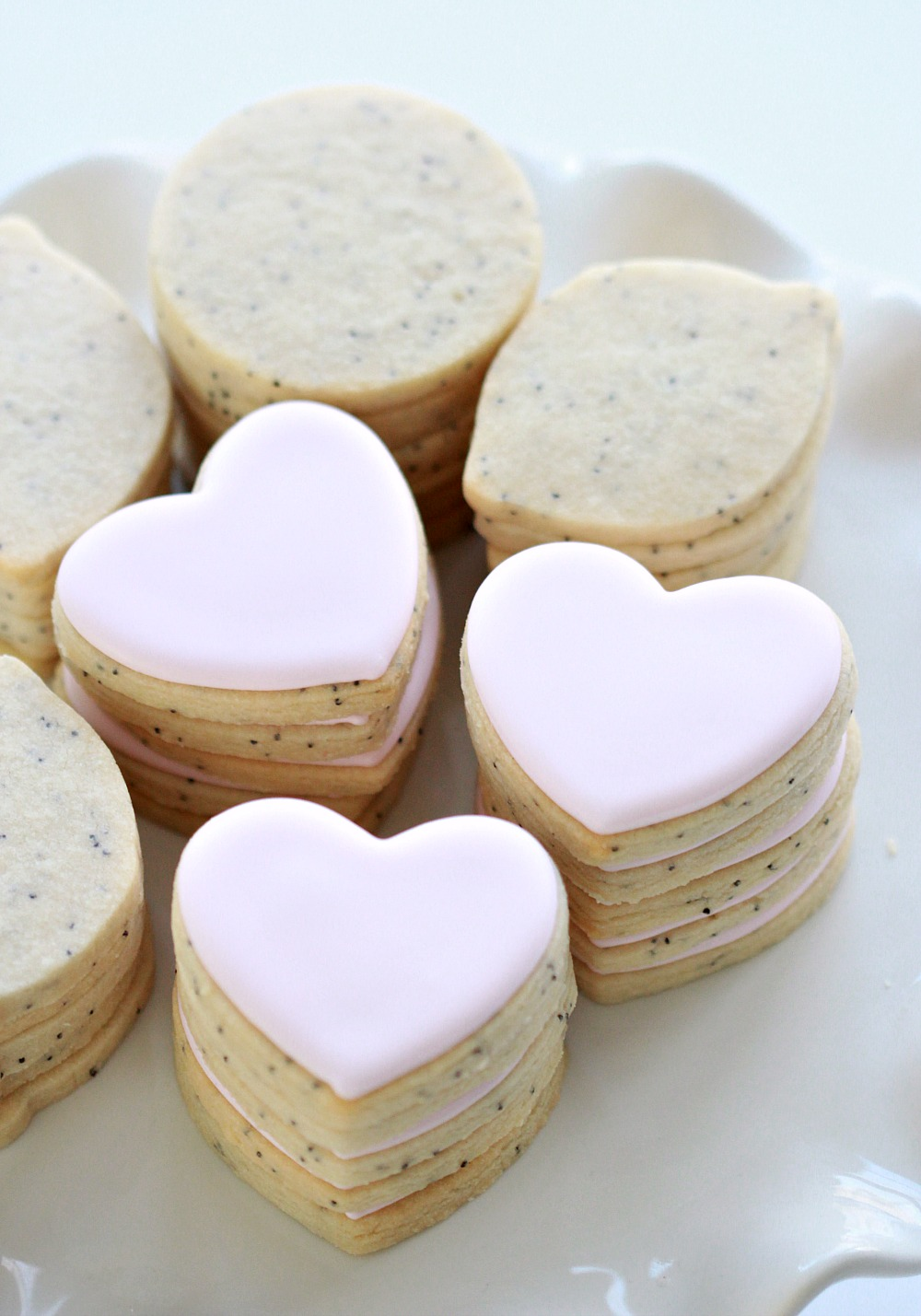 Lemon Poppy Seed Cut Out Cookie Recipe