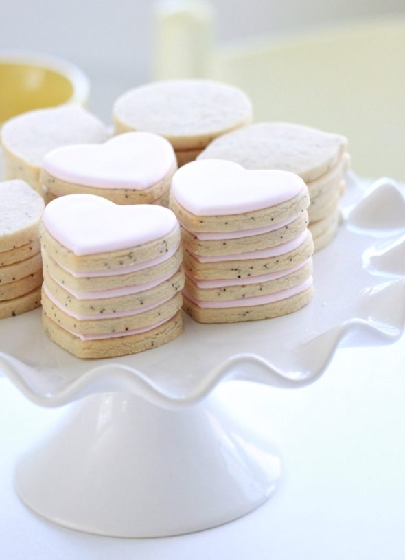 Lemon Poppy Seed Cut Out Cookies