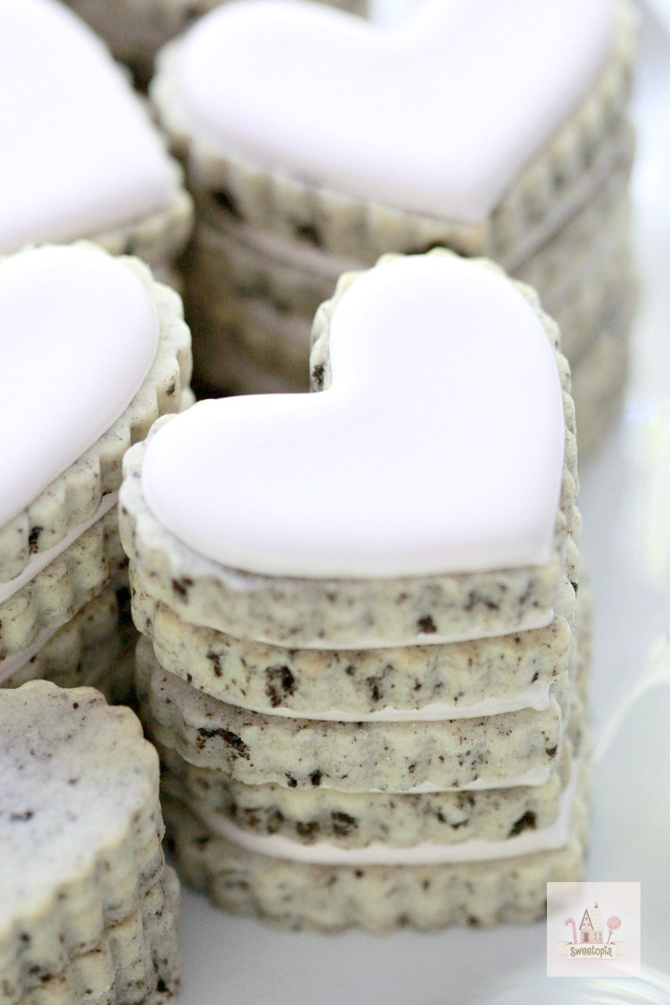 Cookies n Cream Cut Out Cookies