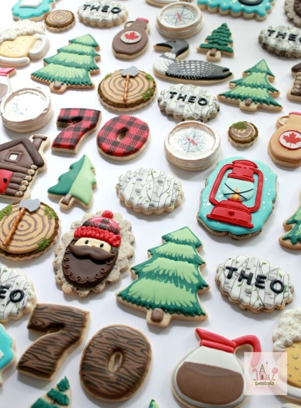 Cottage Decorated Cookies Video