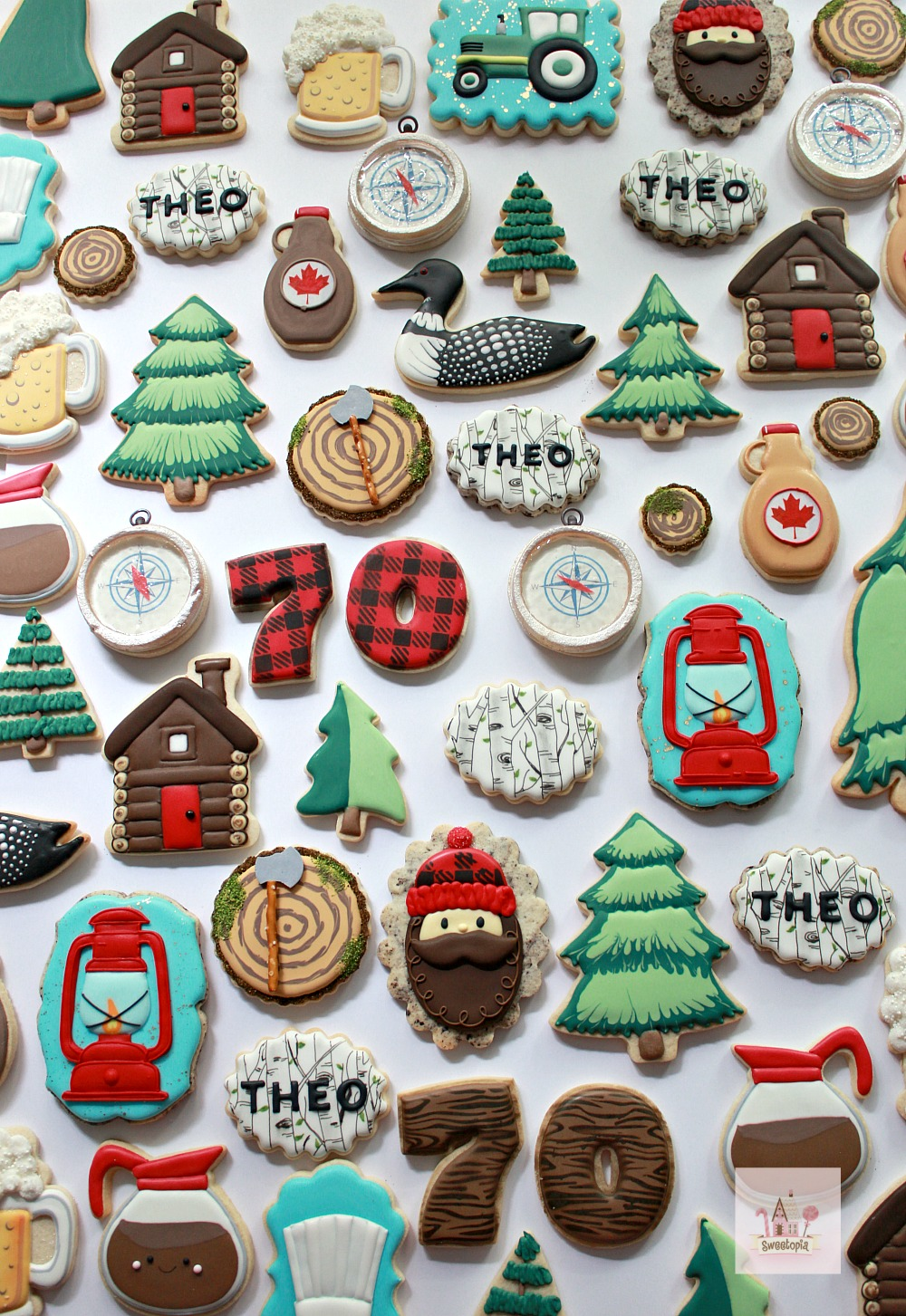 Decorating Camping Cookies Video