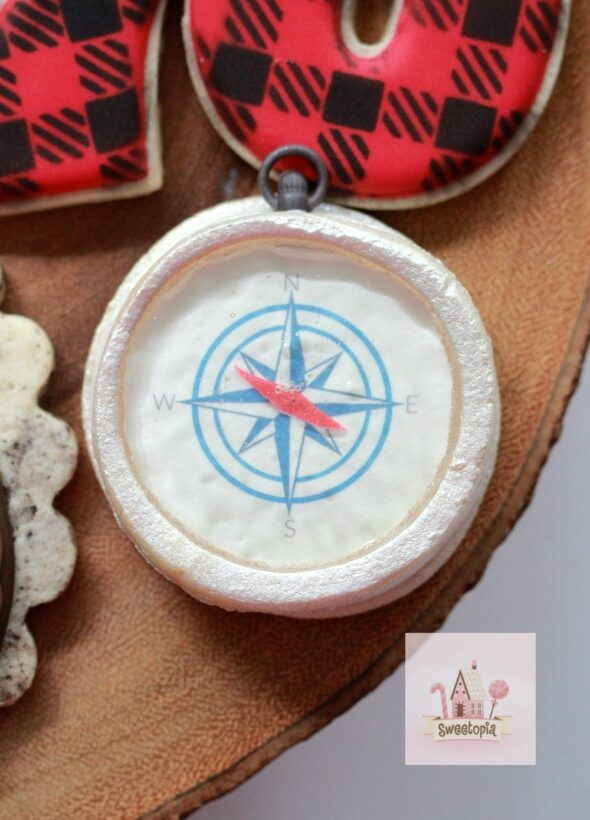 Decorating Compass Cookies Video Tutorial