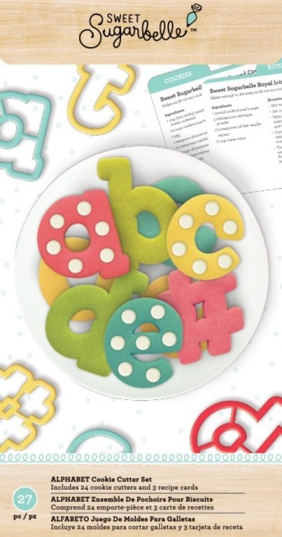 sweet sugarbelle alphabet cutter set