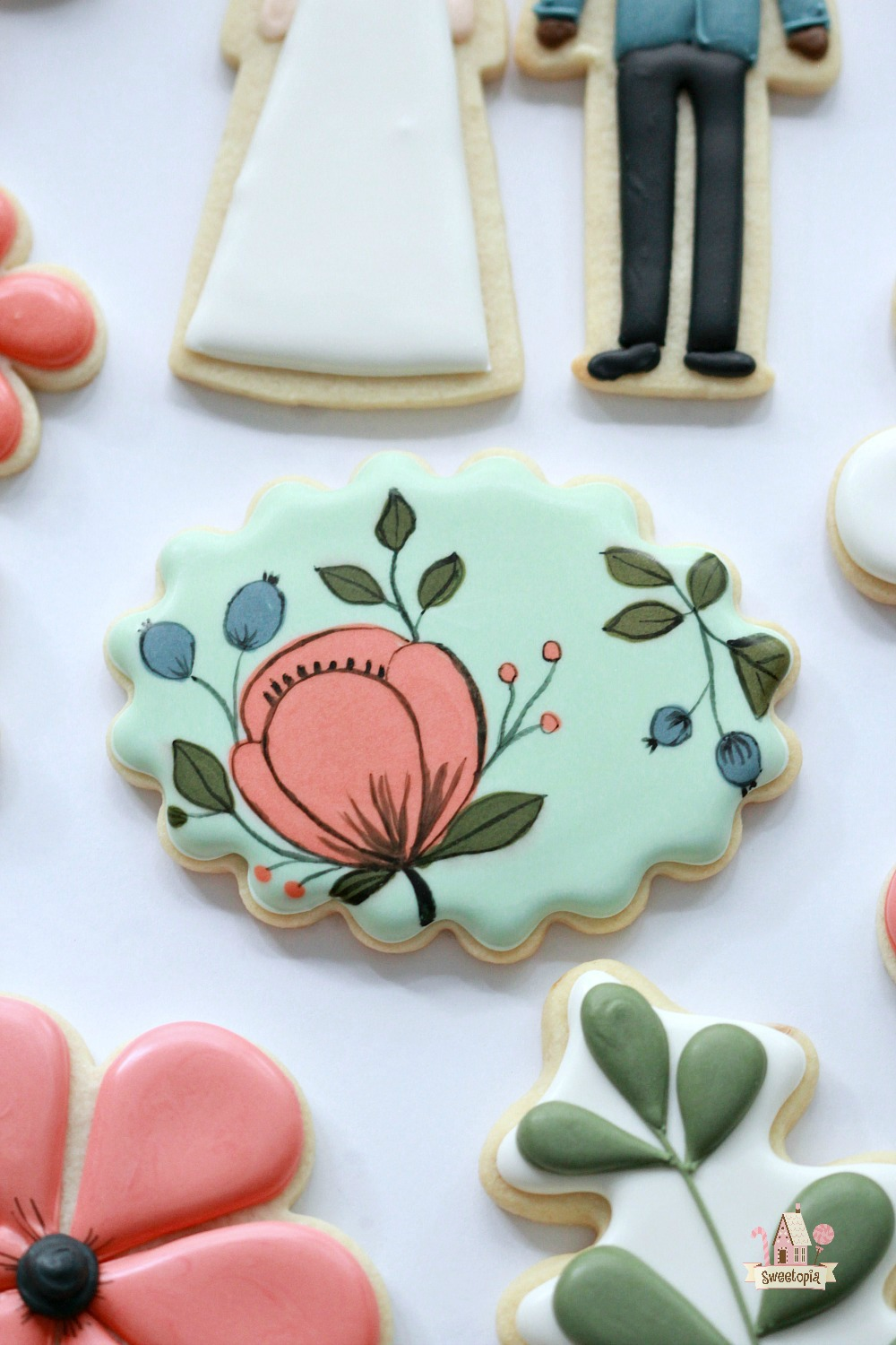 botanical cookies tutorial video